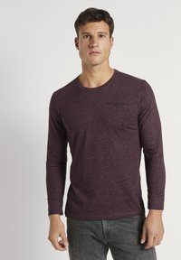 TOM TAILOR - Long sleeved top - dusty wildberry red - 0