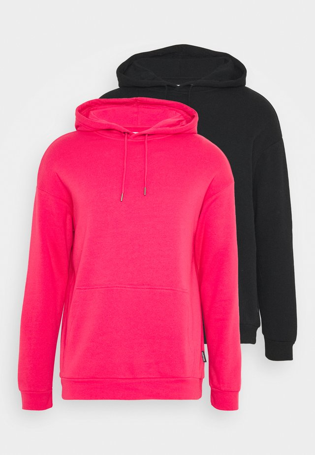 UNISEX HOODIE 2 PACK  - Sweat à capuche - red