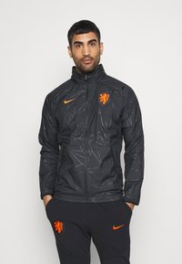 Nike Performance - NIEDERLANDE KNVB  - Veste de survêtement - black/safety orange - 0
