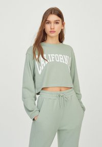 PULL&BEAR - Sweatshirt - light green - 0