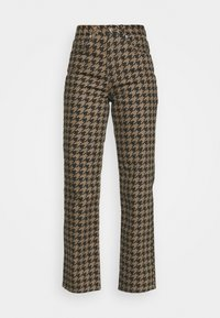 Topshop - DOG RUNWAY - Džíny Relaxed Fit - brown - 4