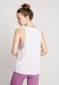 Hey Honey - TANK BREATHE EASY  - Top - white - 2