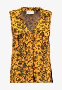 TWINTIP - Button-down blouse - yellow - 4