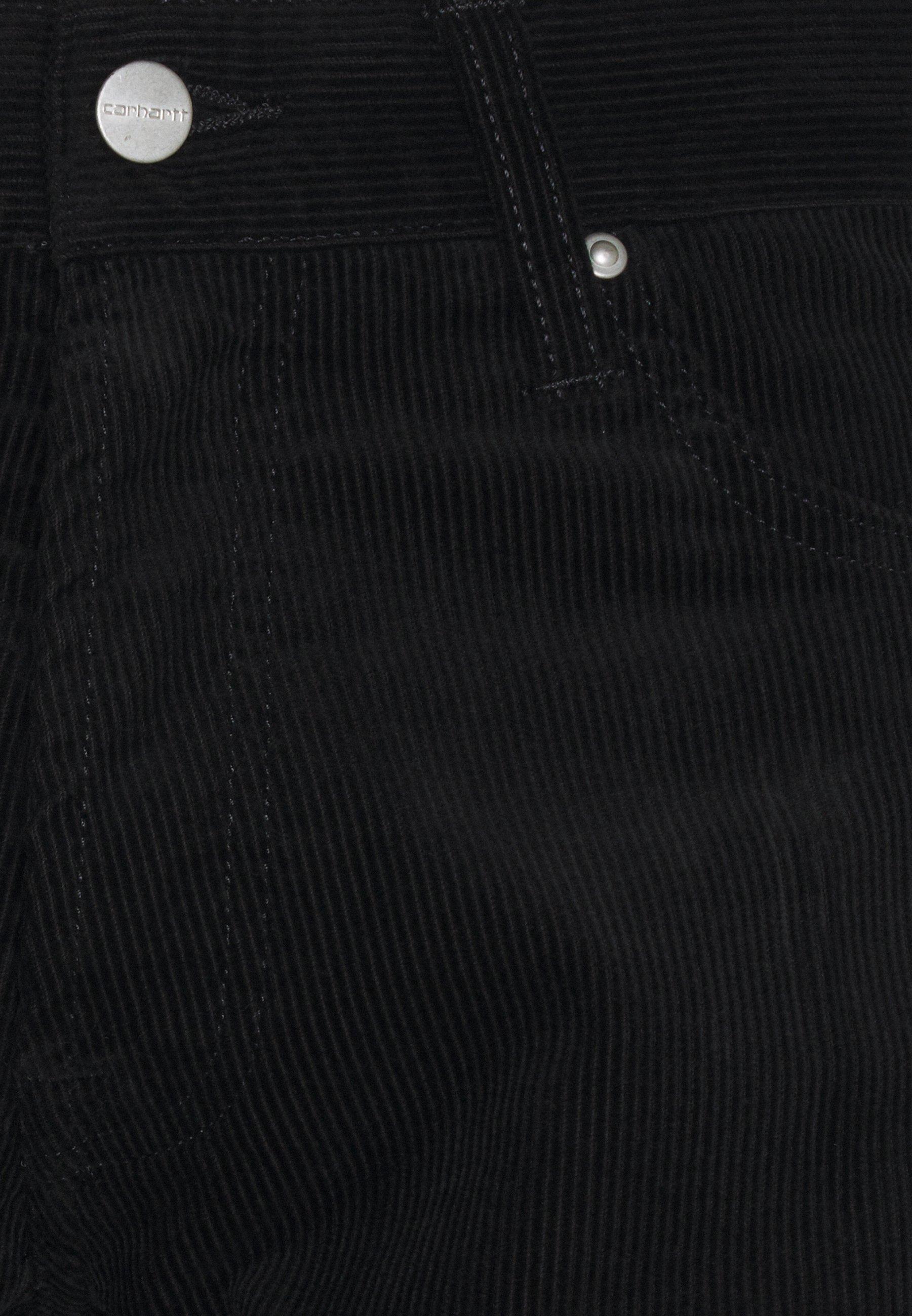 Carhartt WIP KLONDIKE PANT ALBANY - Pantalon classique - black rinsed