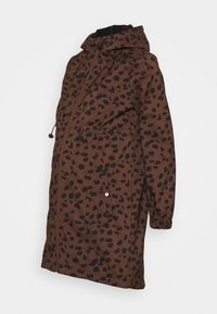 MAMALICIOUS - MLELLA JACKET - Zimní bunda - friar brown/black - 3