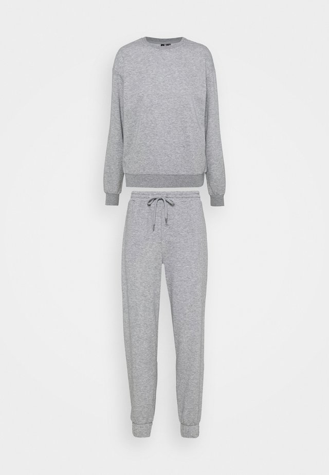 VMNATALIA SET - Sweater - light grey melange