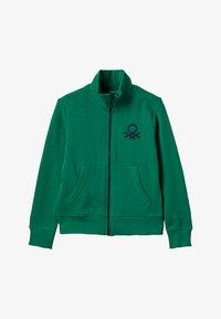 Benetton - Zip-up hoodie - green - 3