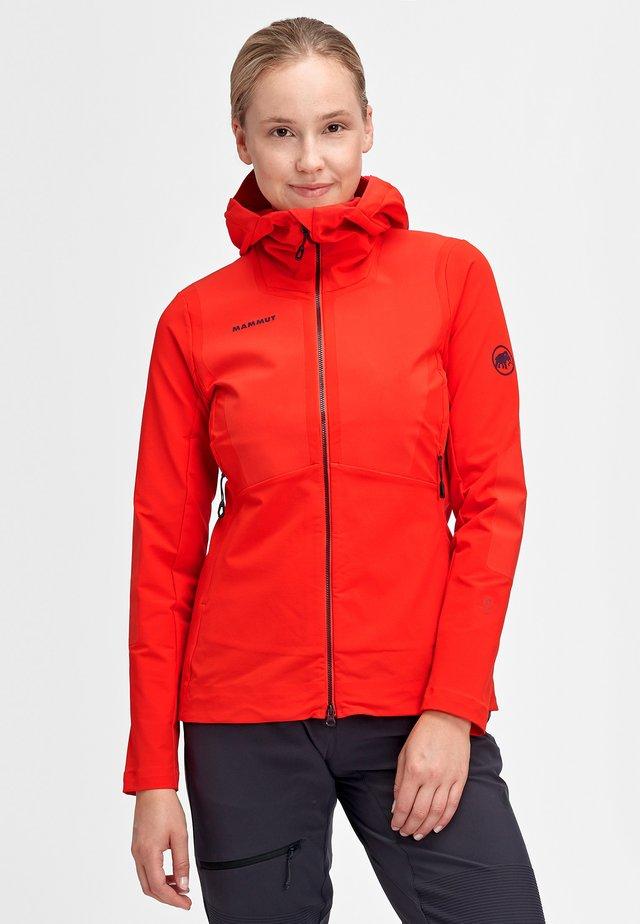 AENERGY PRO  - Soft shell jacket - spicy
