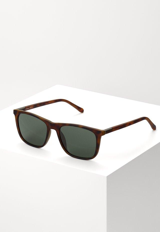 Sonnenbrille - matt havanna