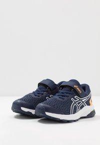 ASICS - GT-1000 9 UNISEX - Stabilty running shoes - peacoat/white - 3