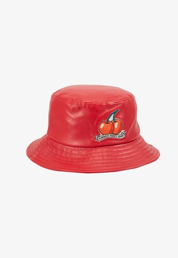 CHERRY BUCKET HAT - Hat - red