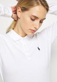 Polo Ralph Lauren Golf - KATE LONG SLEEVE - Polo shirt - pure white - 5
