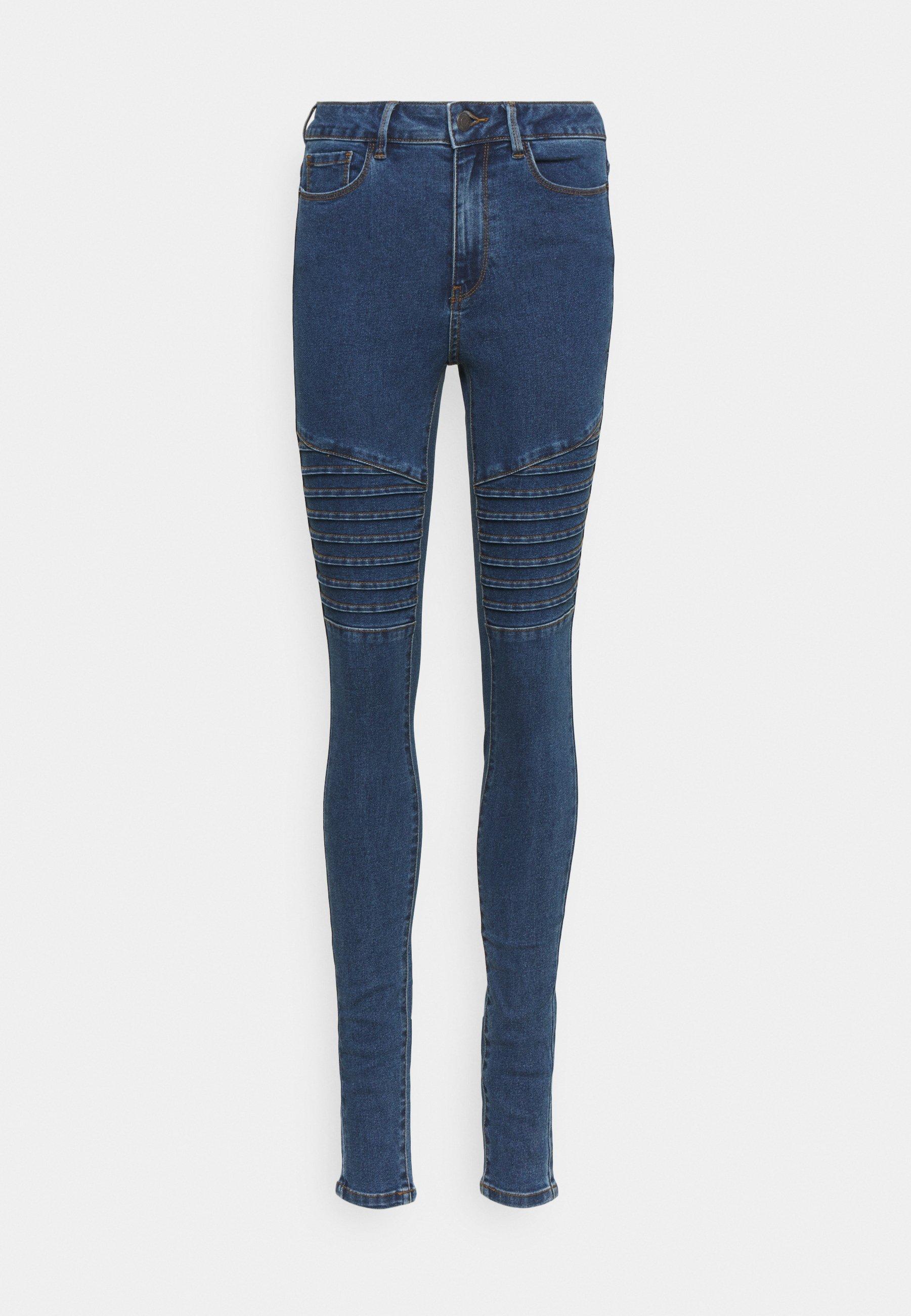 Women VMHOT SEVEN BIKER PANTS - Jeans Skinny Fit