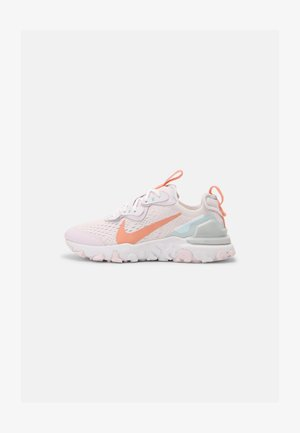NIKE REACT VISION - Sneakersy niskie - light violet/crimson bliss/white/metalic platinum