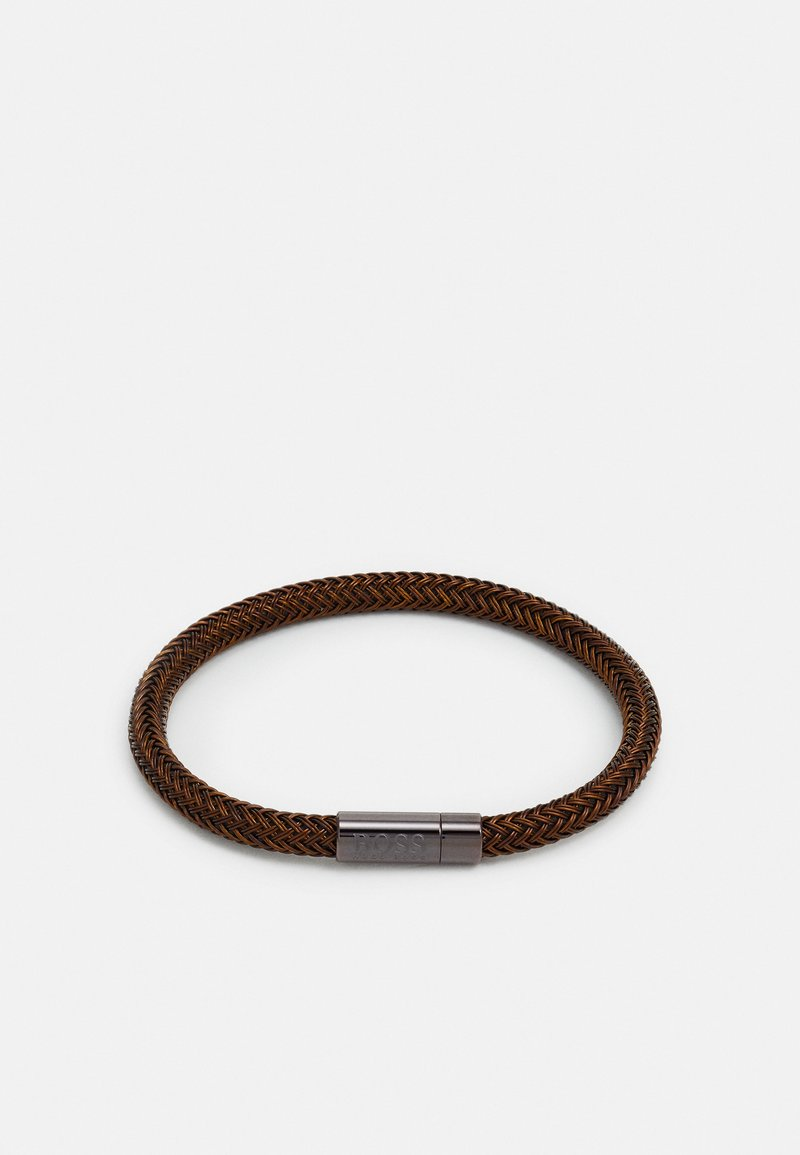 BOSS - ROPE - Bracelet - brown