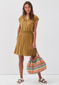 Cache Cache - Shirt dress - olive green - 1