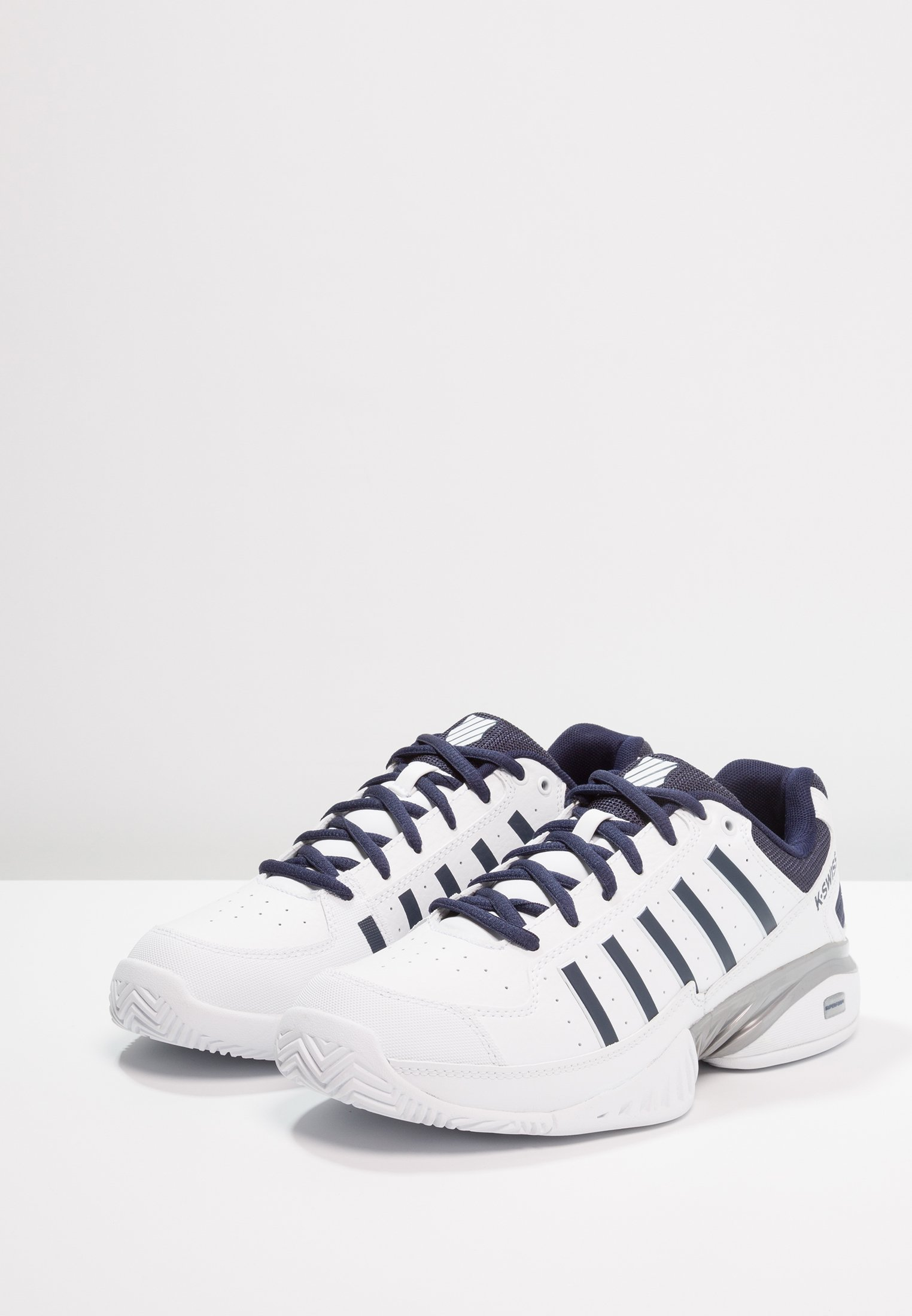K-SWISS RECEIVER IV - Multicourt Tennisschuh - white/navy/weiß - Herrenschuhe aS7Lp