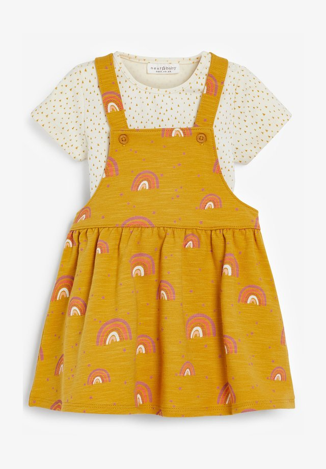 PINAFORE - Day dress - yellow