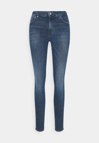 Armani Exchange - POCKETS PANT - Jeans Skinny Fit - indigo denim - 0