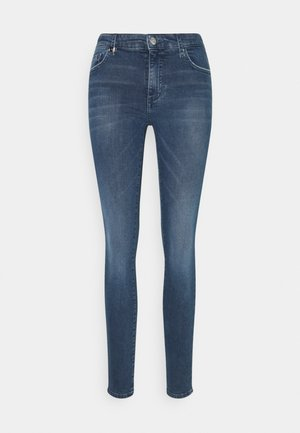 POCKETS PANT - Jeans Skinny Fit - indigo denim