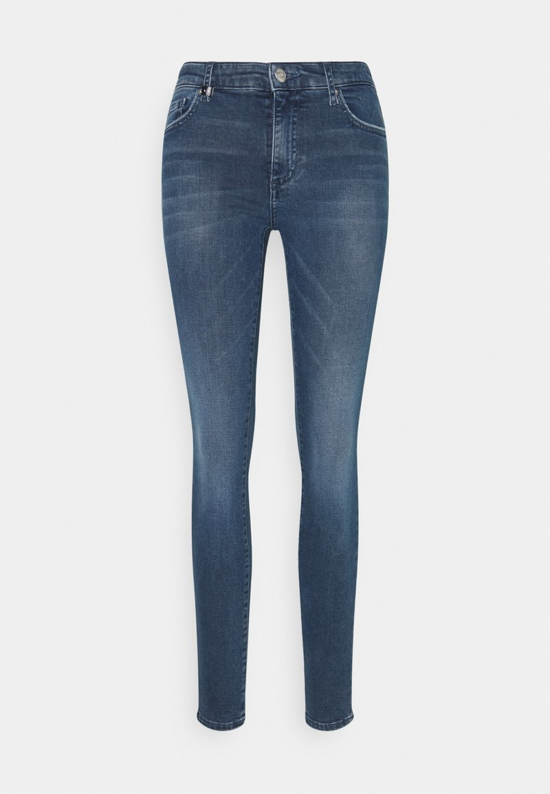 Armani Exchange - POCKETS PANT - Jeans Skinny Fit - indigo denim