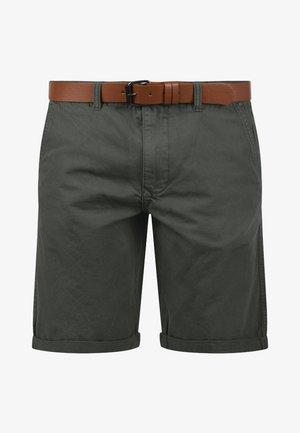 CHINOSHORTS MONTIJO - Shorts - dark grey