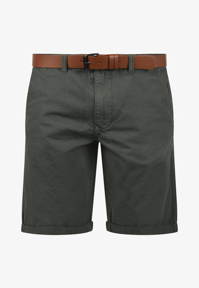 CHINOSHORTS MONTIJO - Shorts - dark grey