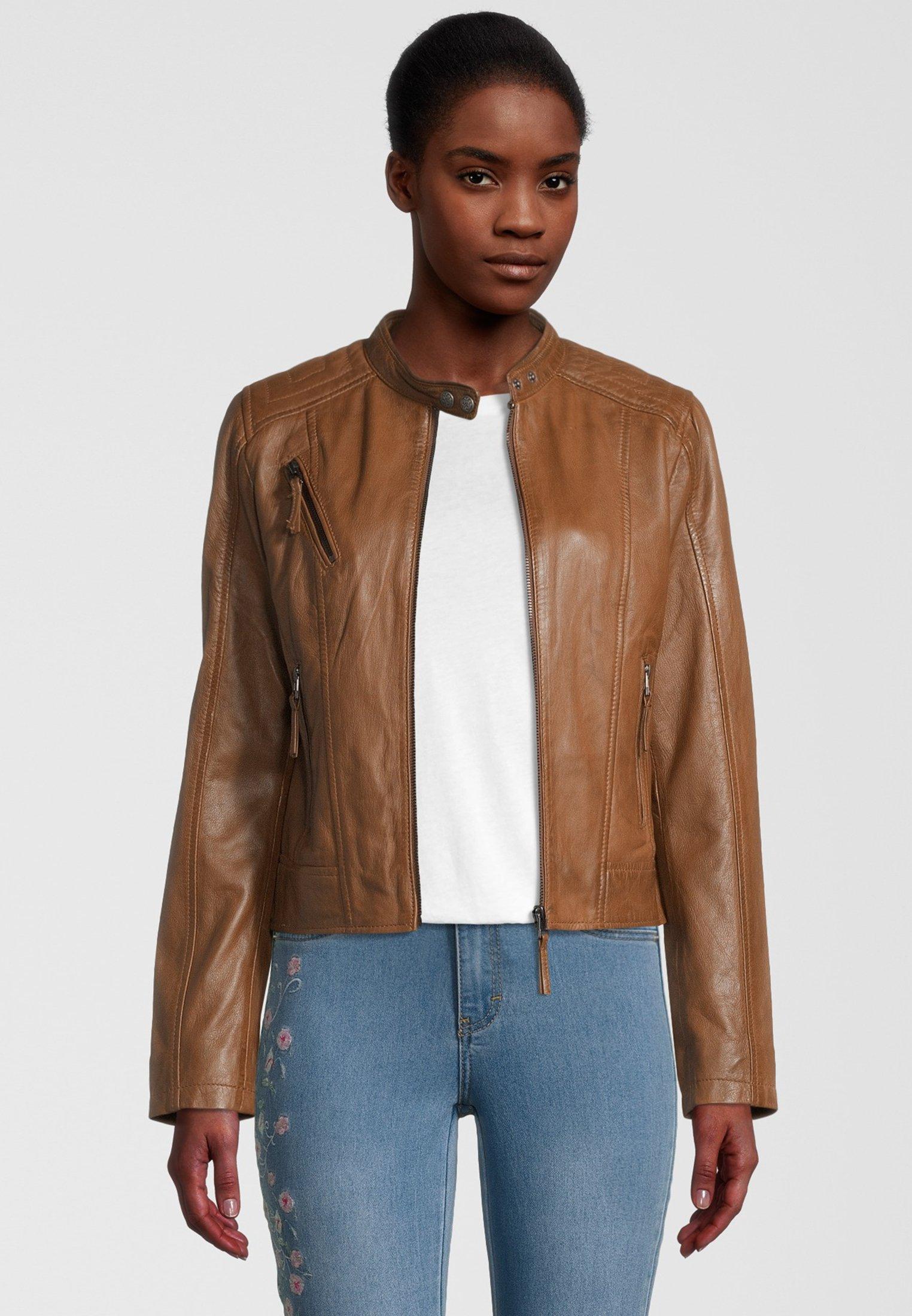 Femme MANON - Veste en cuir