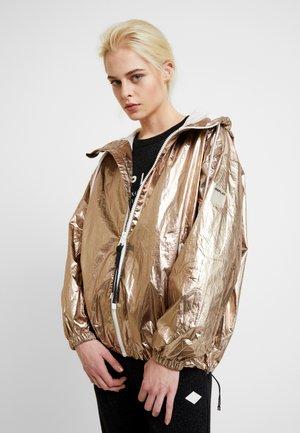 JACKET - Summer jacket - bronze