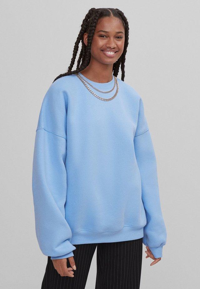 Sweatshirts - blue denim