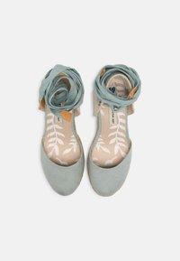 mtng - LOUISA - Platform sandals - menta/natural - 4