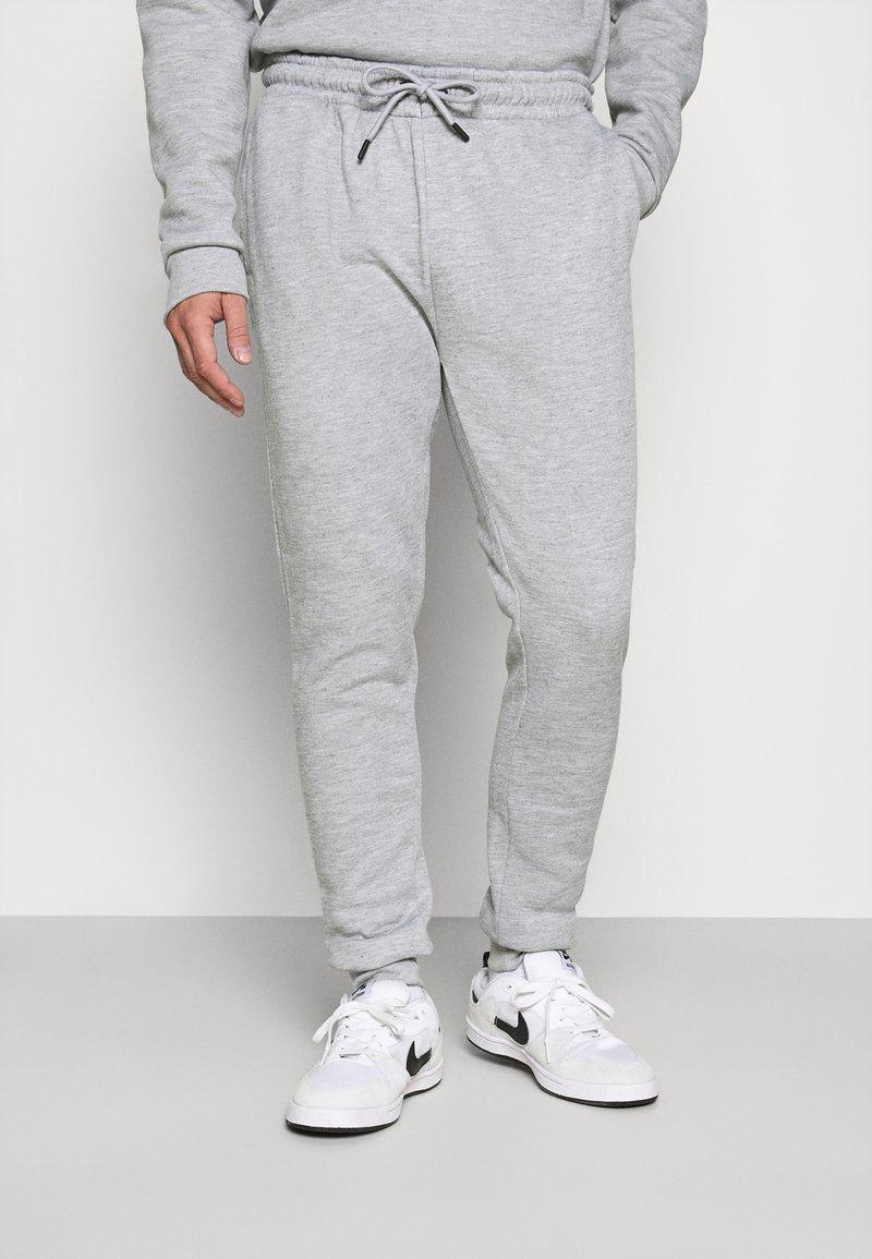 Brave Soul - TYRELLC - Pantalon de survêtement - grey marl/ jet black