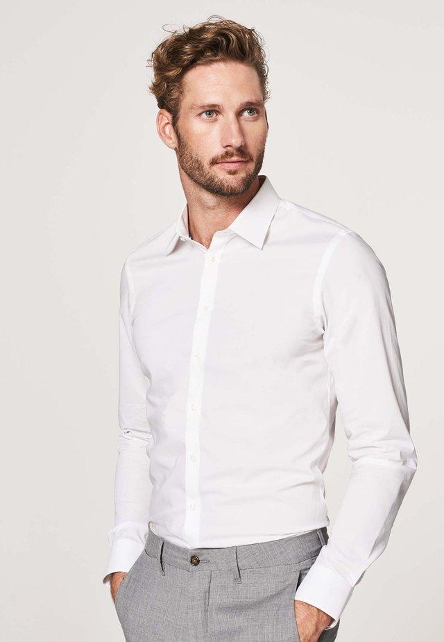 SUPER SLIM FIT - Overhemd - wit
