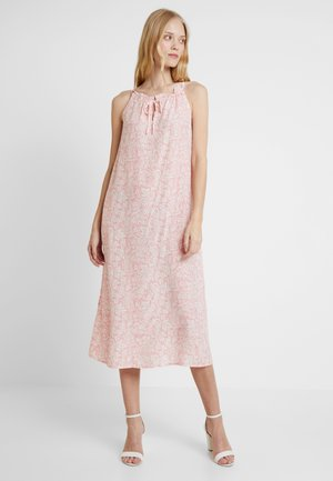 HALTER TIE - Maxi dress - pink