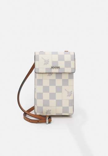 CORTINA PIAZZA PIPPA PHONECASE - Across body bag - lightblue