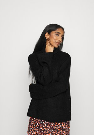 YASALLU ROLL NECK - Jumper - black