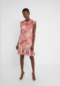 Three Floor - EXCLUSIVE DRESS - Cocktail dress / Party dress - red/multi-coloured - 0