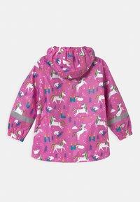 Frugi - PUDDLE BUSTER - Waterproof jacket - pink - 1