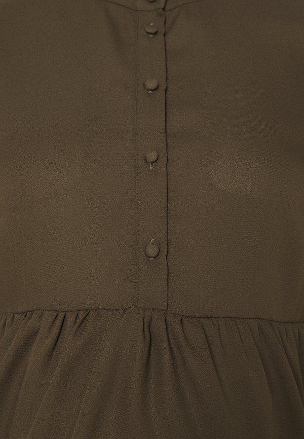 Pieces Maternity PCMLULLA - Bluzka - black olive/oliwkowy KNIG
