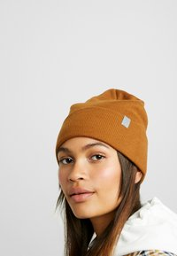Weekday - ICON BEANIE - Bonnet - brown reddish - 1