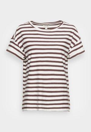 COO STRIPE - T-shirt con stampa - rust brown