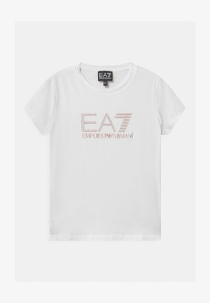 EA7  - Camiseta estampada - white