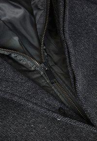 Next - FUNNEL NECK ZIP THROUGH COAT - Short coat - black - 3