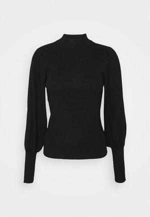 VMWILLOW HIGHNECK - Sweter - black