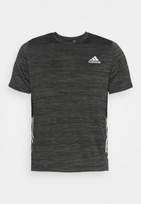 adidas Performance - OUTDOOR - T-shirt z nadrukiem - black - 4