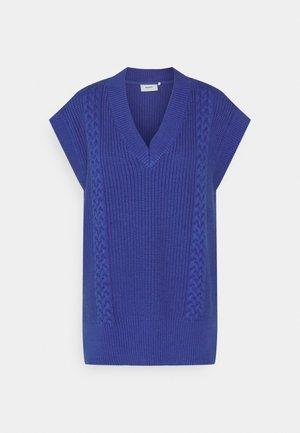 VOLANA - Strickpullover - blue