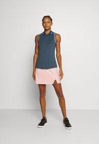 adidas Golf - PERFORMANCE SPORTS GOLF REGULAR SKIRT - Sportovní sukně - pink tint - 1
