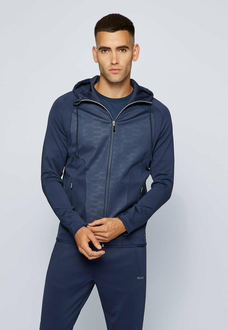 BOSS - SOOCON - Sweatshirt - dark blue
