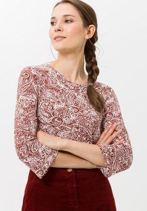 STYLE CLARA - Long sleeved top - cinnamon