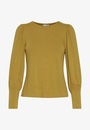 IHVENUS LS - Langærmede T-shirts - bronze mist